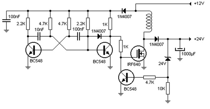 12 Volt Relay Circuit Diagram Electromagnetic Relay