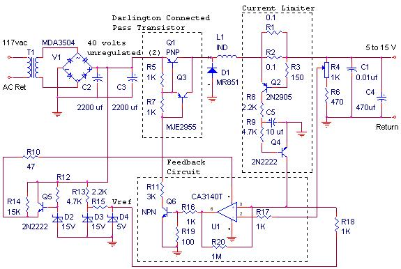 12v 10a Switching Power Supply Circuit Diagram Circuitsrhpowersupply33: 12v Power Supply Schematic At Gmaili.net
