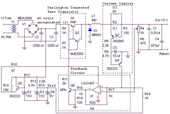 Circuit Diagram Power Supply Circuit Diagram Switch Mode Power