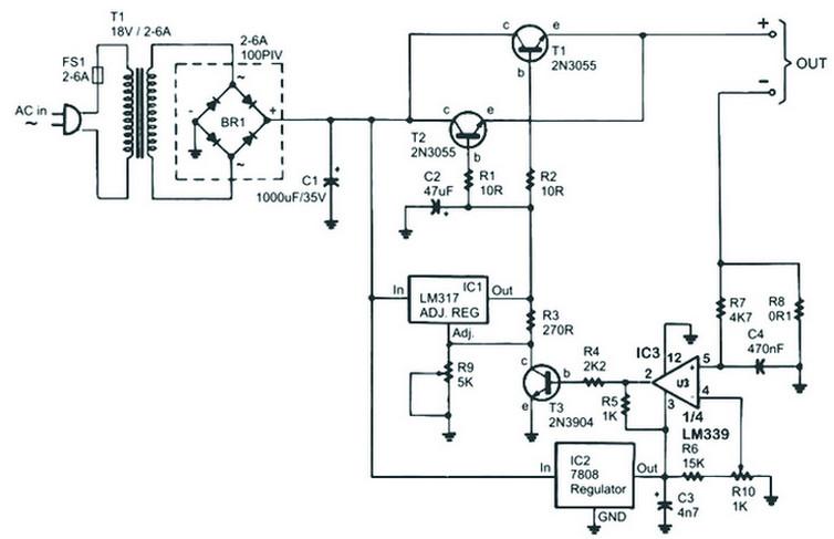 circuit diagram battery wiring diagram