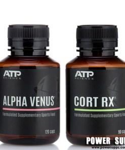 ATP Science ALPHA VENUS + CORT RX STACK  Venus + Cort Rx