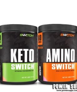 Switch Nutrition KETO + AMINO 60  40 + 60 serves
