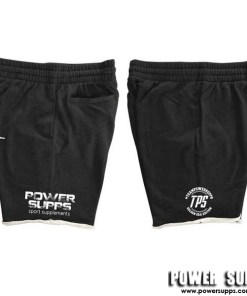 Power Supps AS Colour Track Shorts Black X Large