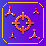 VSEPR Chemical Invaders App Icon