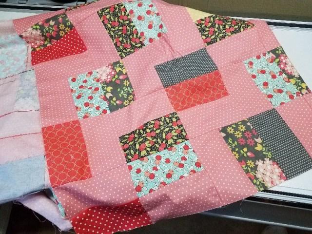 #2017fal - Pink Villa Rosa Quilt