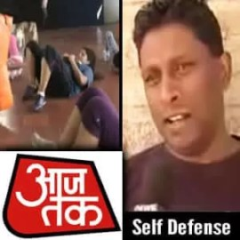 Aaj Tak Feature - Franklin Joseph teaching Women Self Defense