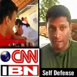 CNN Ibn Tv feature - Franklin Joseph Self Defense Class
