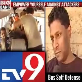 TV9 | Franklin Joseph - Bus Attack Self Defense