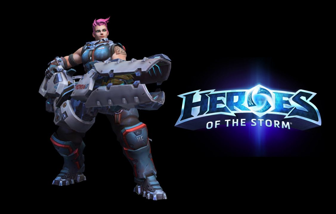 Overwatch's Zarya and Starcraft's Warhead Junction join Heroes of the Storm
