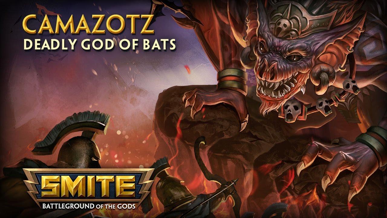 Win one of 10 Camazotz unlock codes for SMITE