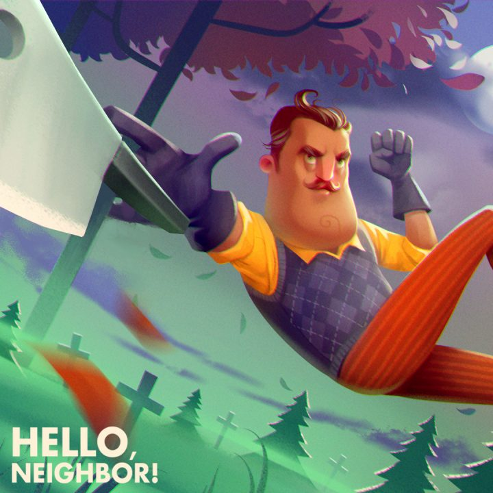 Hello Neighbor's story trailer is pretty creepy