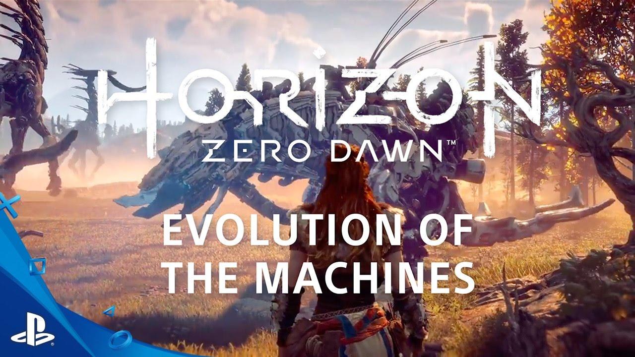 Horizon: Zero Dawn's augmented reality analysis of the machines