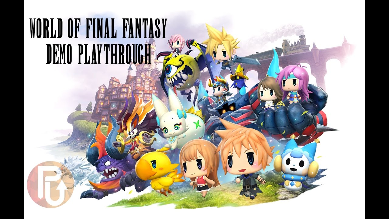 PowerUp! Plays: World of Final Fantasy's demo on PS4