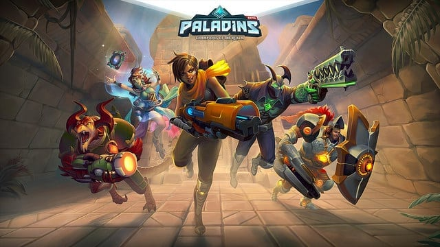 Win one of five Paladins Founder's Packs