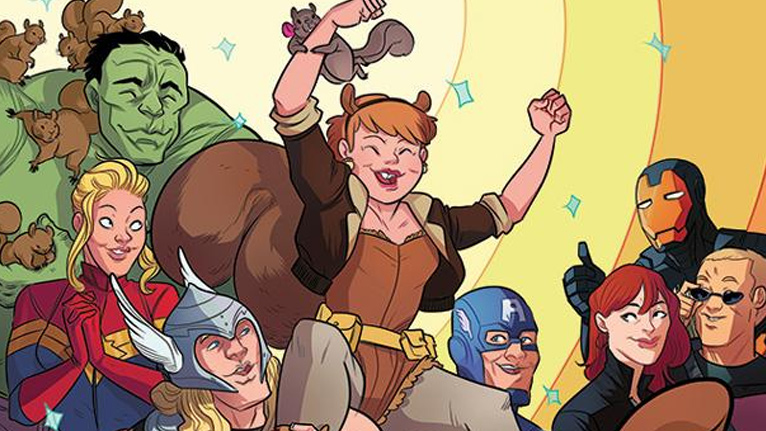 Come on, everybody loves Squirrel Girl