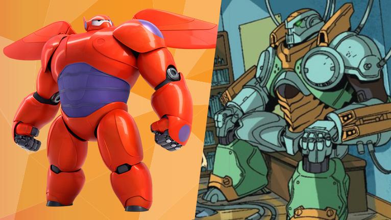 Disney version / Marvel version. Like Night and Day.