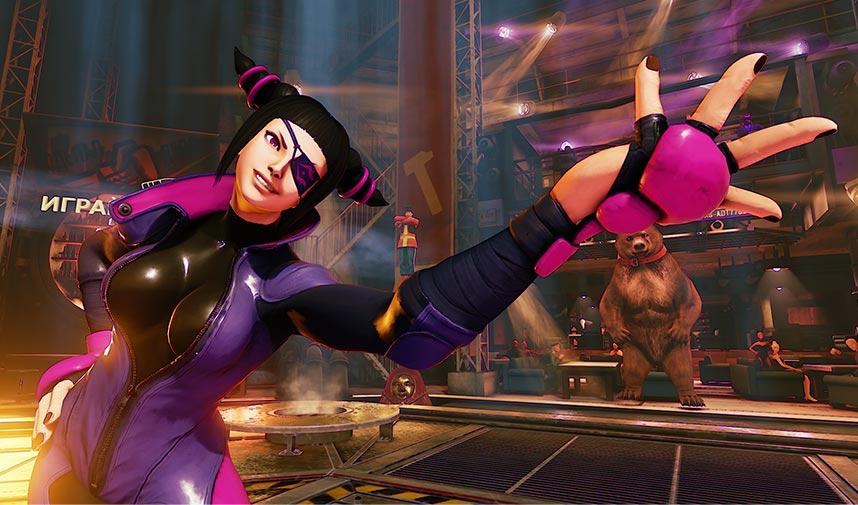 SFIV's Juri returns in Street Fighter V's Season 1