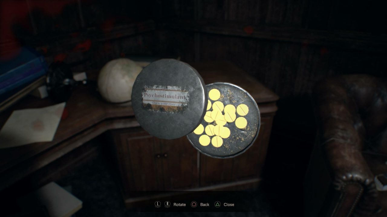 Resident Evil 7 Guides: Use Psychostimulants and never miss an item