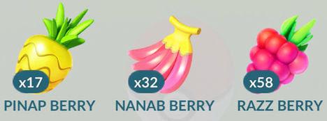 Pokemon GO Berries