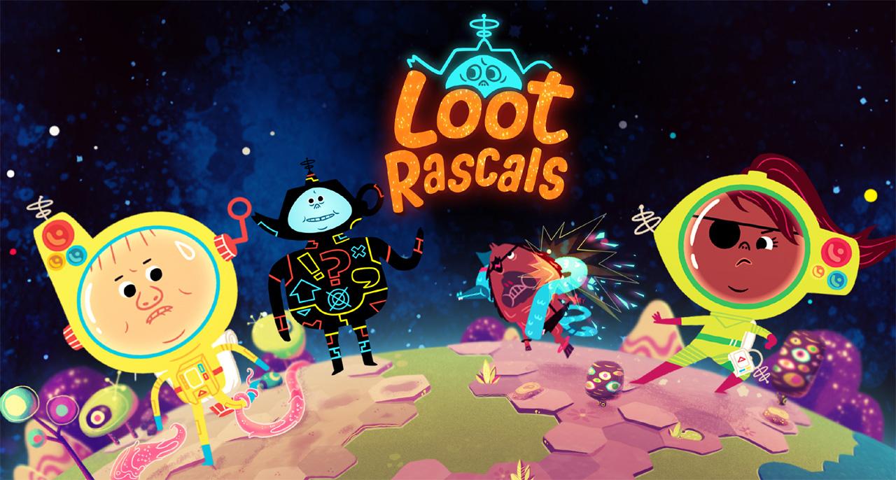 <h1> Loot Rascals <br> <h3> I like rusty moons