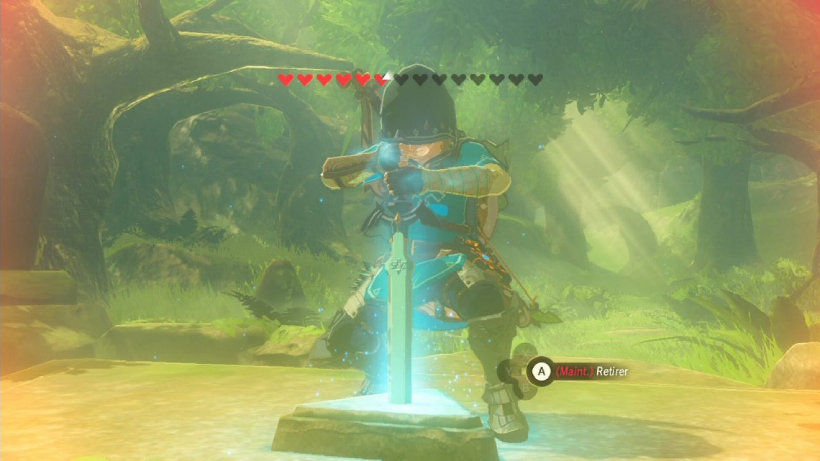 Where To Get A Traveler S Sword Botw