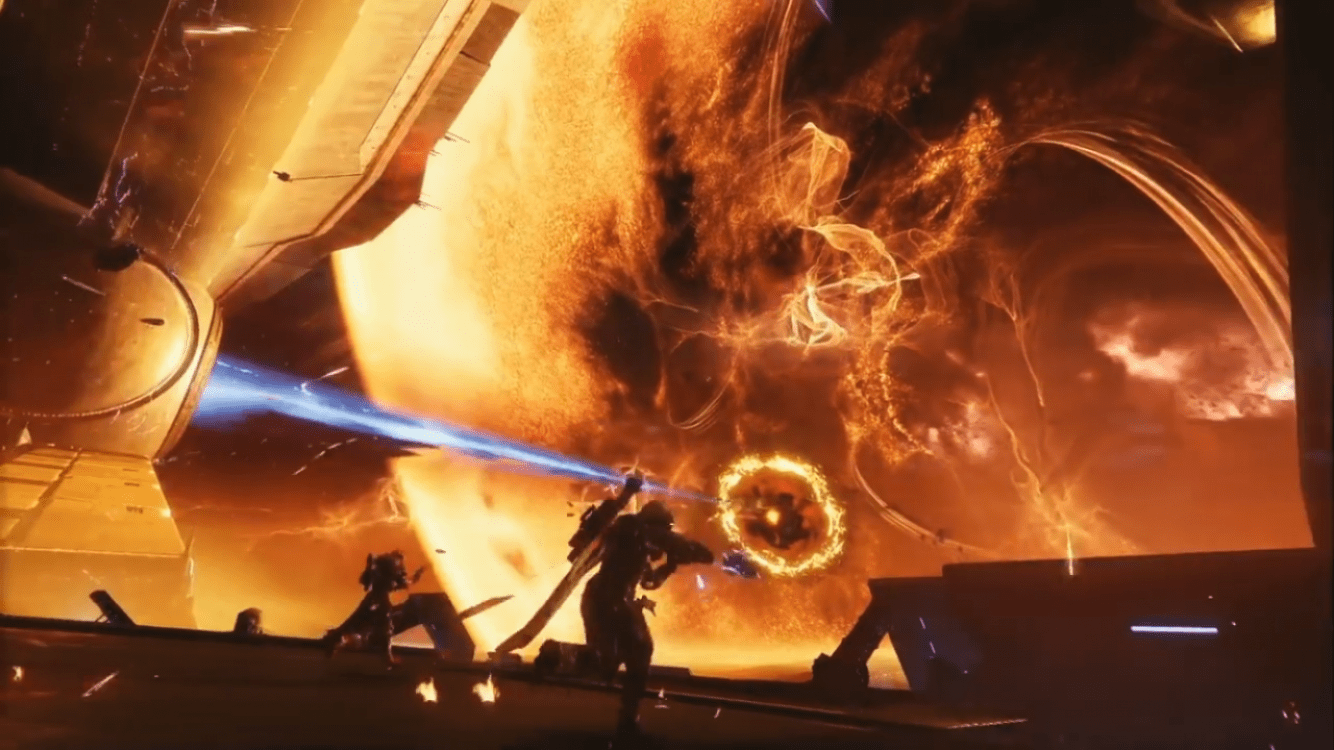 Destiny 2 - What are the blank symbols on the Director for