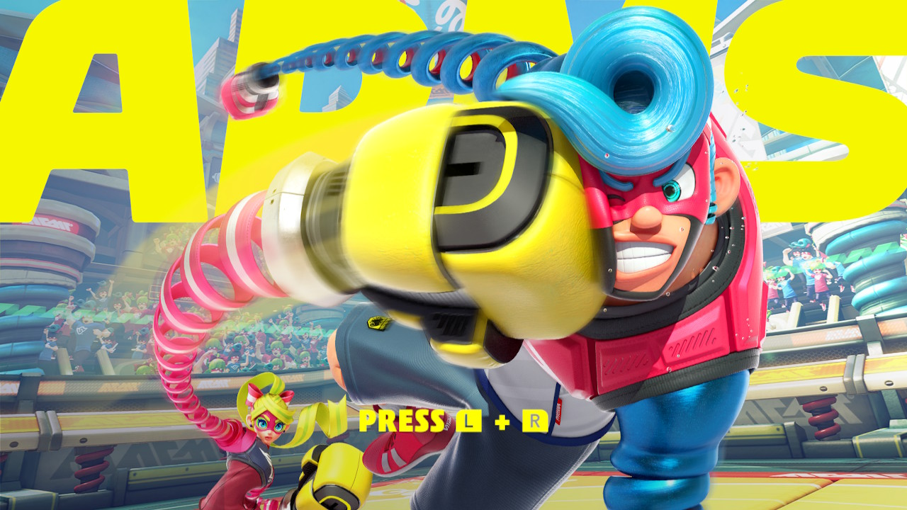 ARMS – How to Change the Fighter's Colours