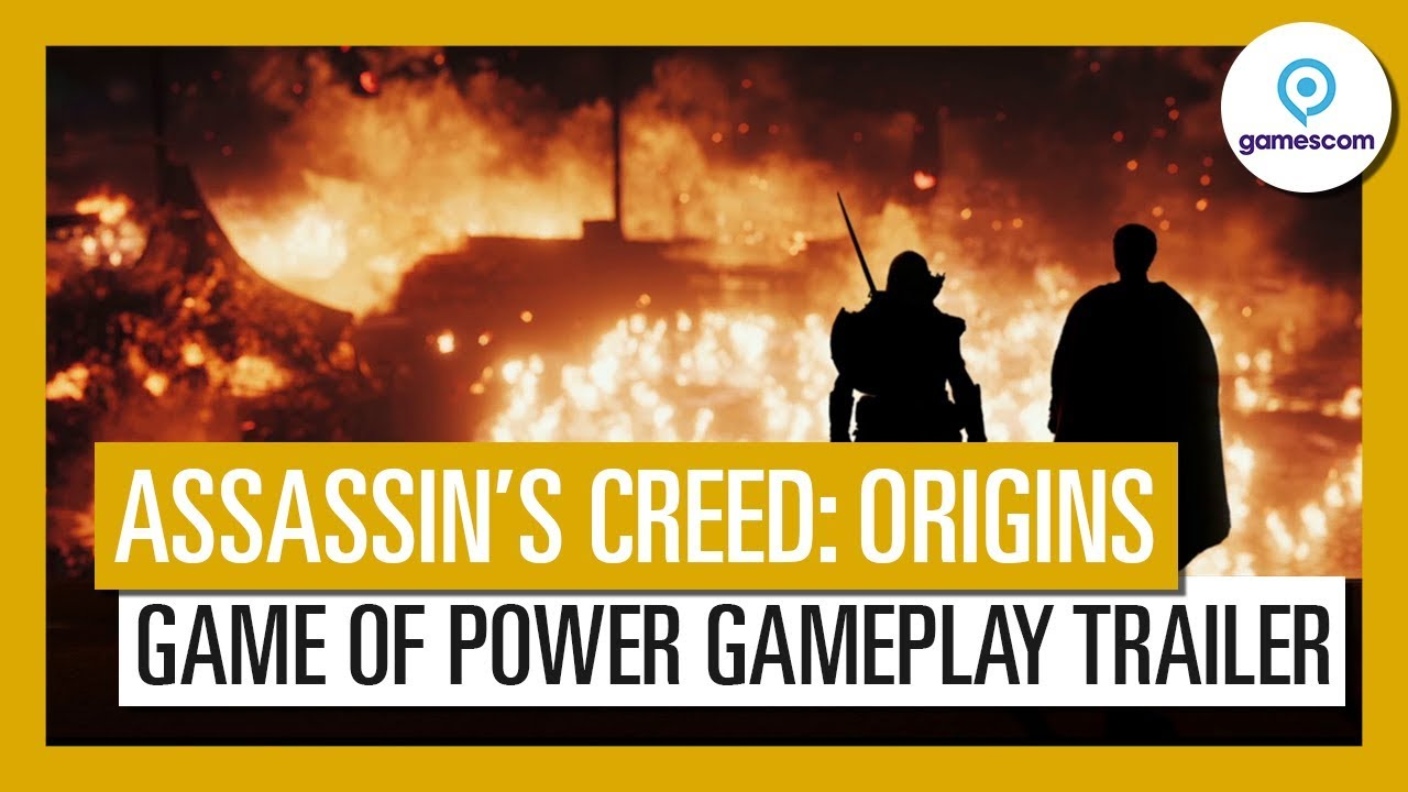 Assassin's Creed: Origins introduces you to the Game of Power