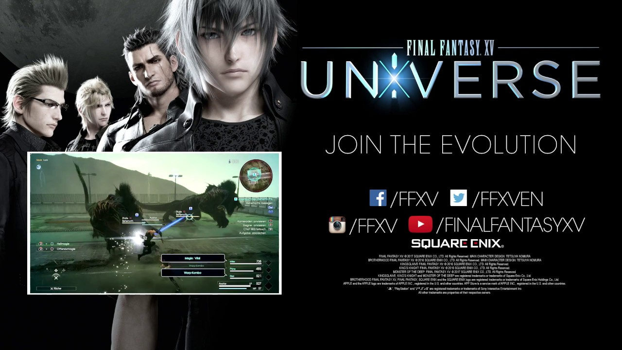 Final Fantasy XV's universe keeps on expanding