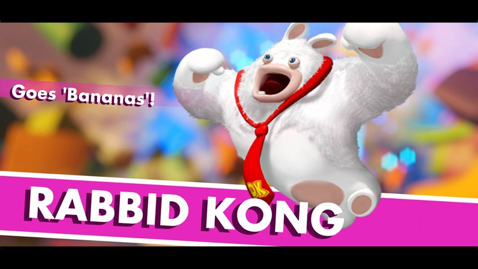 Mario + Rabbids Kingdom Battle – Meet World 1's Boss; Rabbid Kong