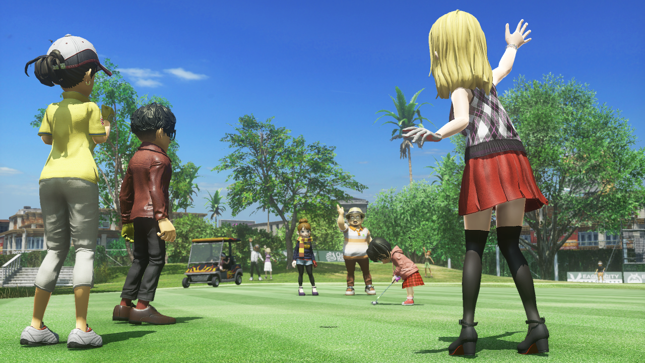 Everybody's Golf Guide – How to do a Homing Shot