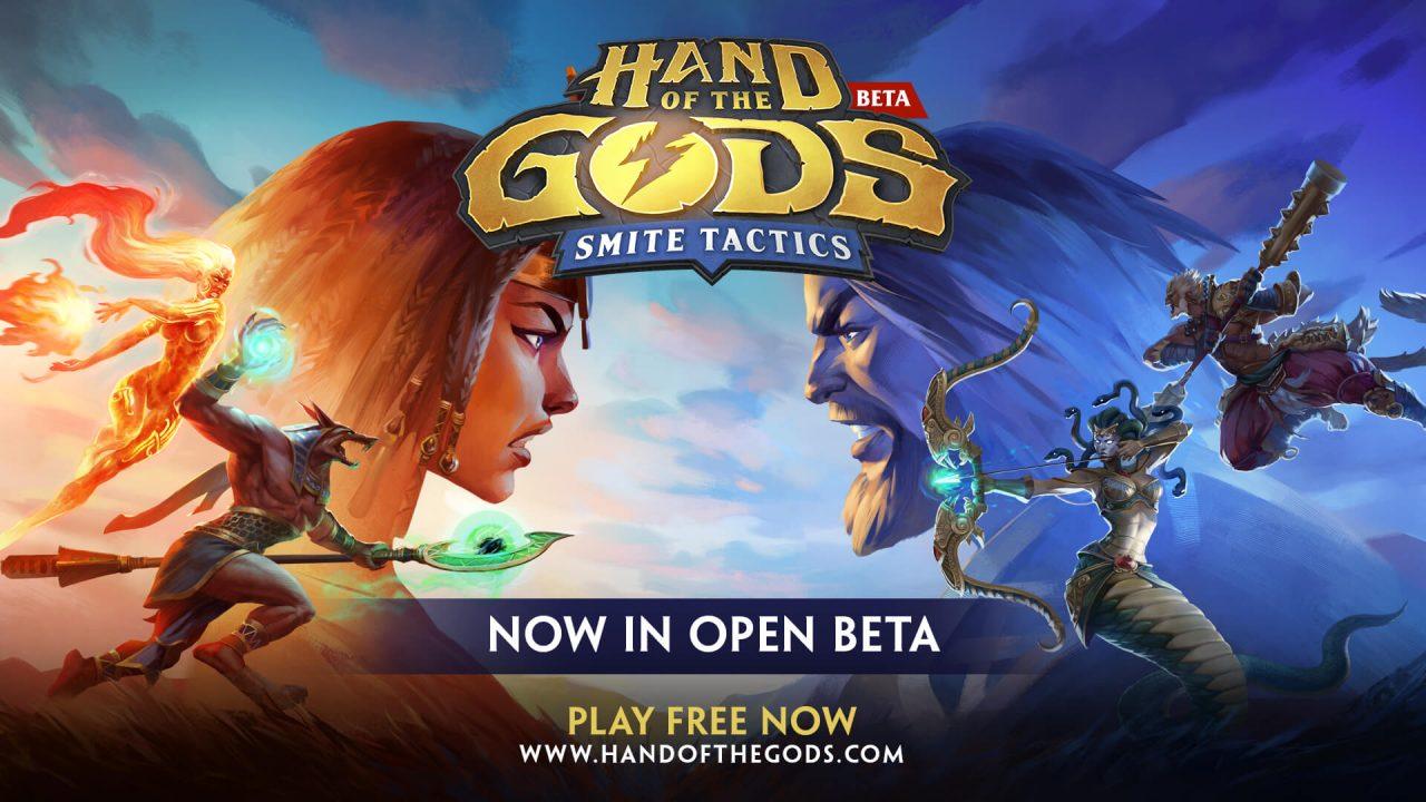 Win 1 of 10 Greek Starter Packs for Hand of the Gods: SMITE Tactics