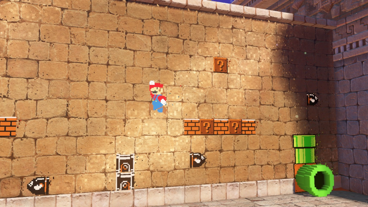Super Mario Odyssey – A 2D Section in Seaside Kingdom