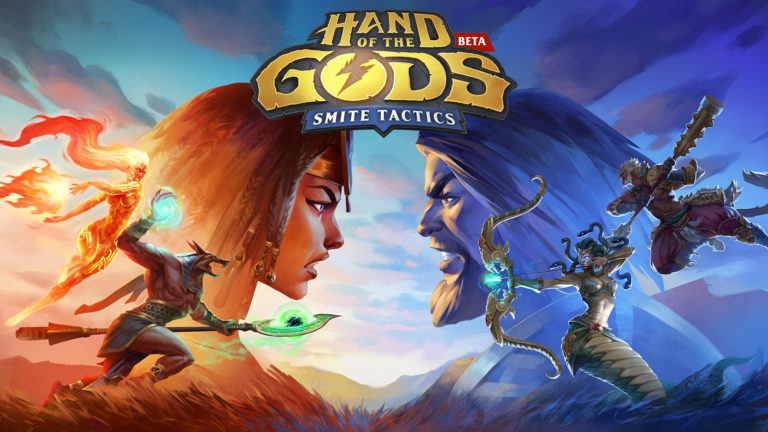 Hand of the Gods: SMITE Tactics' console beta is available now