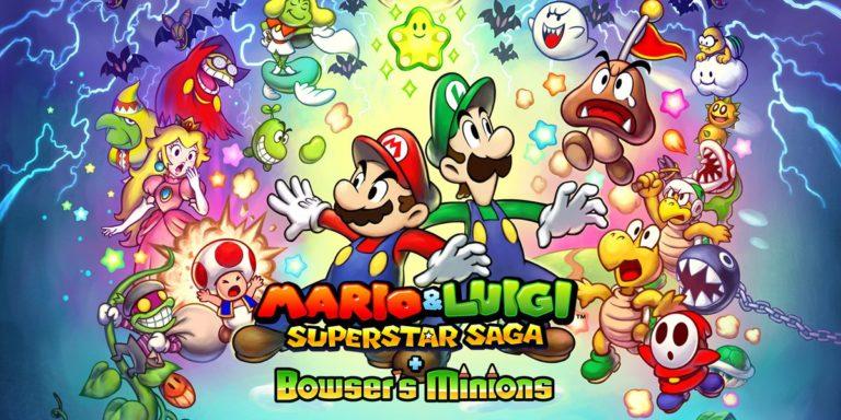 <h1> Review &#8211; Mario &#038; Luigi: Superstar Saga + Bowser&#8217;s Minions <br> <h3> | Let&#039;s-a go
