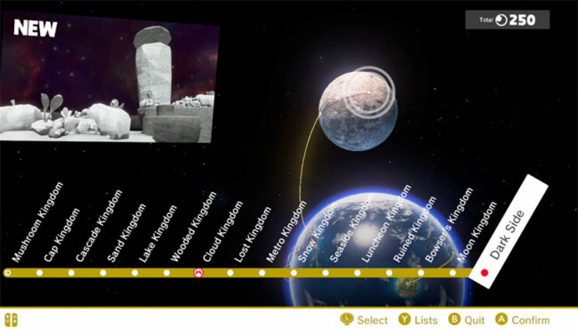 Super Mario Odyssey Guide How many worlds are there in the game