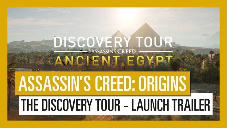 Assassin's Creed Discovery Tour is available for Origins as a free update