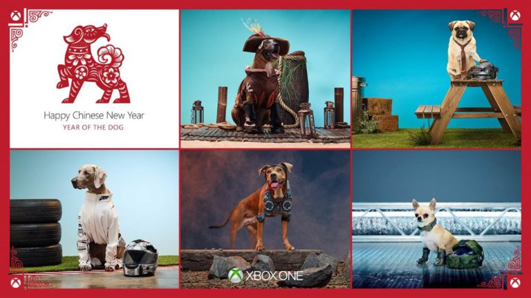 Xbox is celebrating the Year of the Dog in style with Xbox CosPups