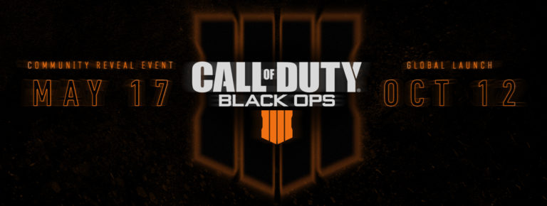 Call of Duty: Black Ops 4 is this year's Call of Duty