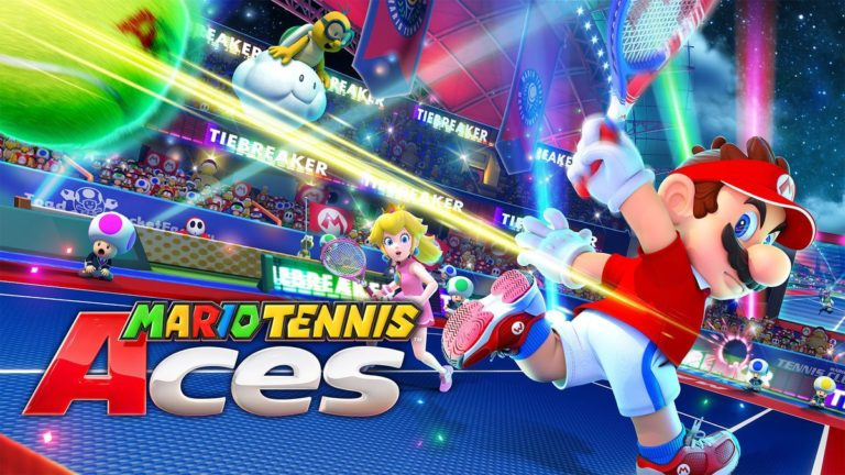 Mario Tennis Aces launches in June, free online tournament happening before release