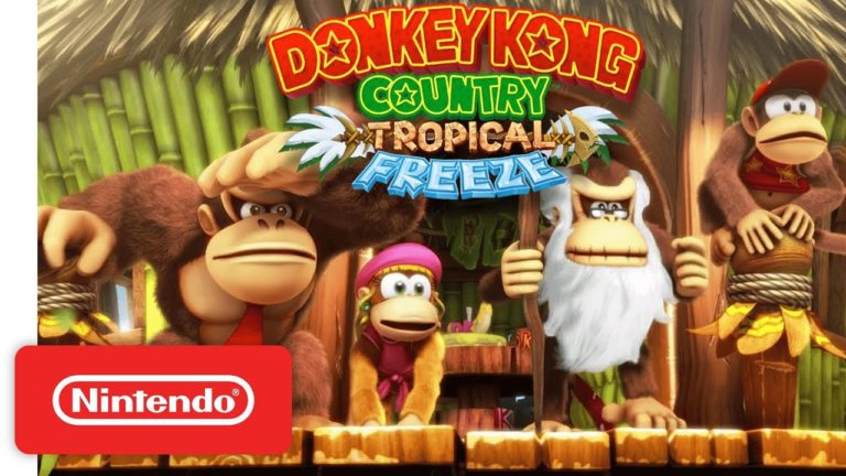 Nintendo releases Donkey Kong Country Tropical Freeze Switch Gameplay footage