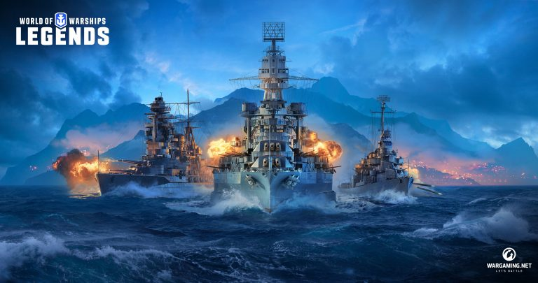 World of Warships Legends sets sail for consoles in 2019