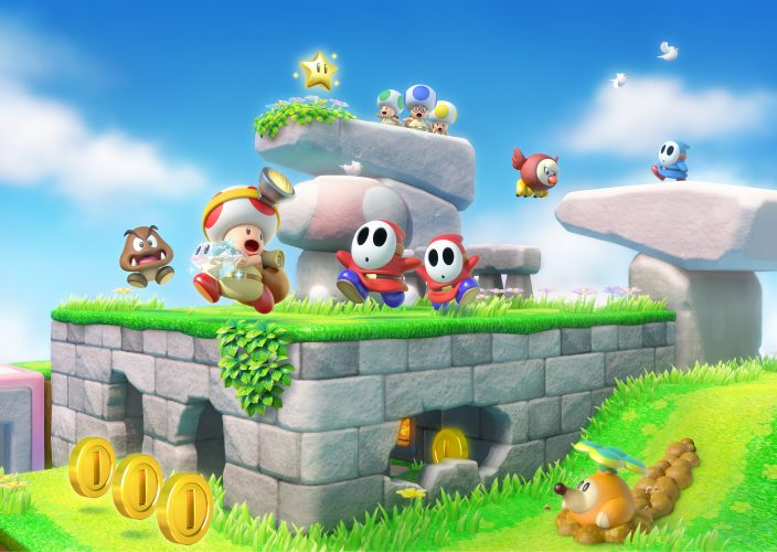 How Many Levels are in Captain Toad Treasure Tracker on Switch?