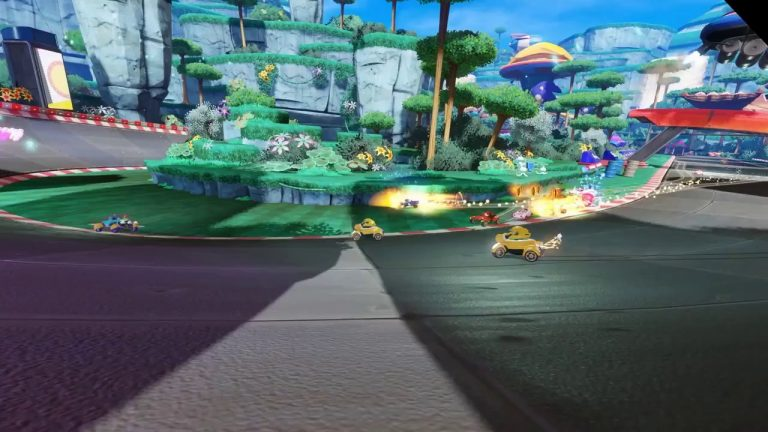 Check out some supermoves in this Team Sonic Racing gameplay video