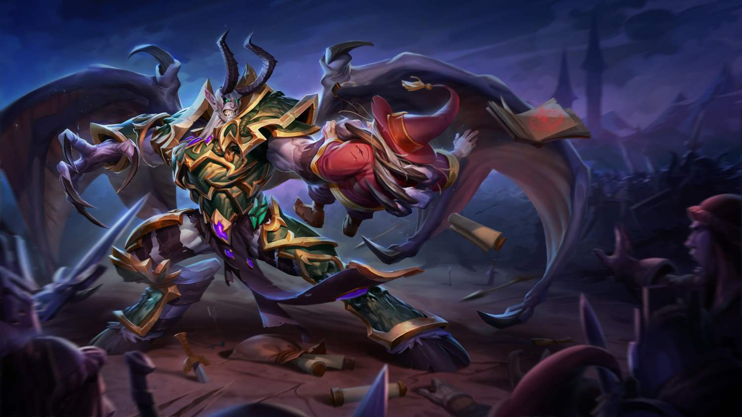 Mal'Ganis now available on the Heroes of the Storm PTR