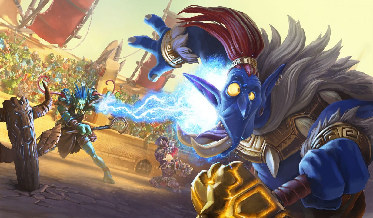 Heartstone's latest expansion, Rastakhan's Rumble is now live