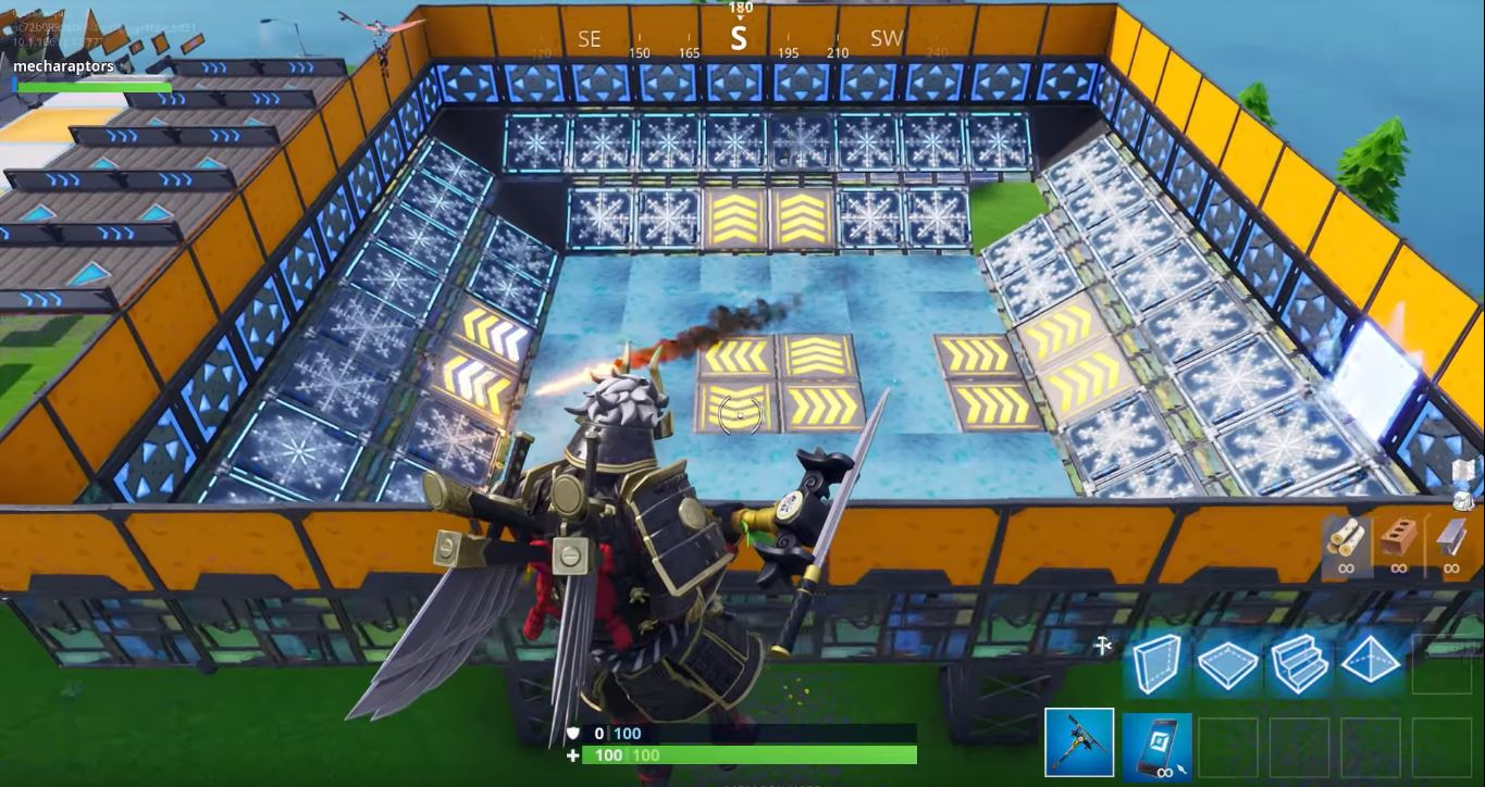 Fortnite Season 7 Adds Snowy Map Terrain, Planes, and Weapon Skins