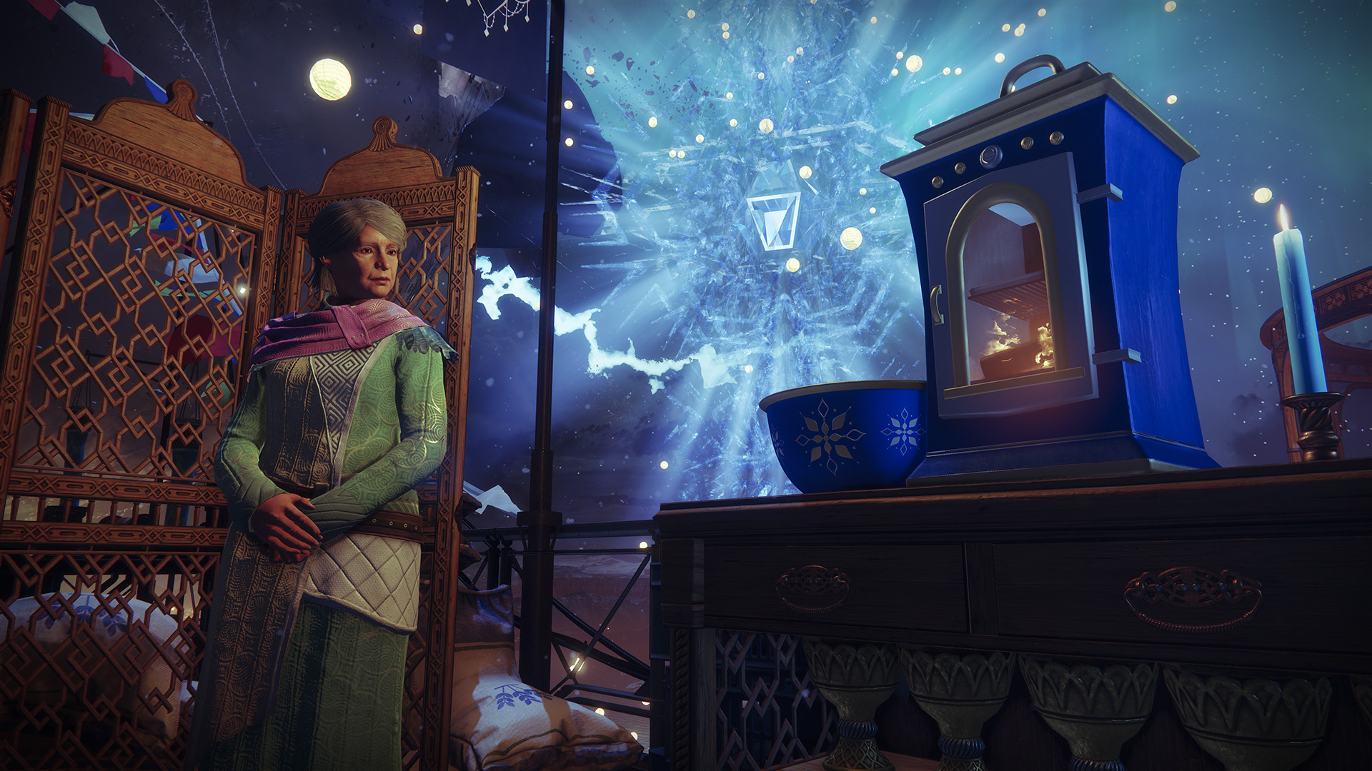 Celebrate Destiny 2 Dawning 2018 and ring in Christmas with an awesome sleigh
