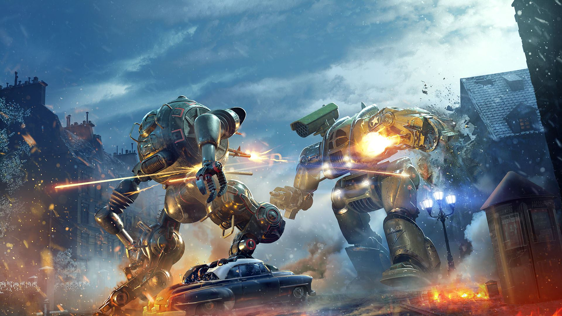 Mechs Get Ready to Rumble in World of Tanks Mercenaries