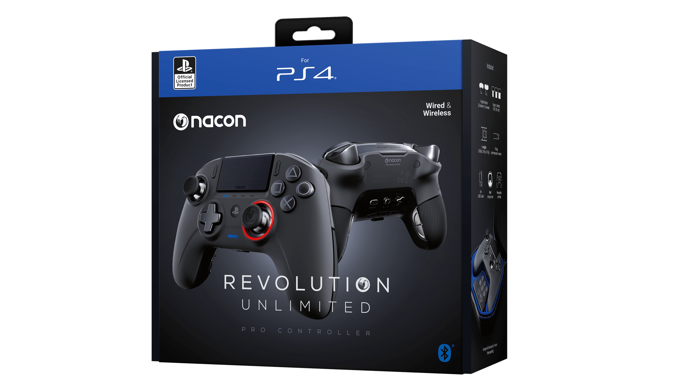 Nacon reveals Revolution Unlimited Pro controller for PS4